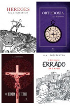 KIT - O Melhor de Chesterton (4 livros)