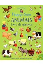 Poppy e sam : animais (Livro de adesivos)