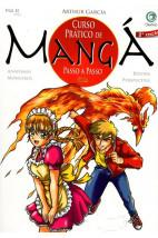 Curso Prático de Mangá Passo a Passo -Anatomia-Monstros-Roupas-Perspectiva - Vol.2