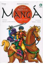 Curso Prático de Mangá Passo a Passo -Shoujo-Figura em Movimento-Animais-Armas e Tiros - Vol.3