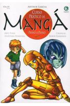 Curso Prático de Mangá Passo a Passo -Arte Final-Anatomia Feminina-Crianças-Robôs Femininos - Vol.4