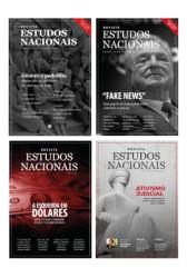Assinatura da Revista Estudos Nacionais - 4 exemplares
