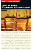 Economia: 100 palavras-chave