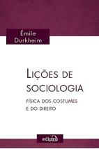 Lições de sociologia - Física dos costumes e do direito